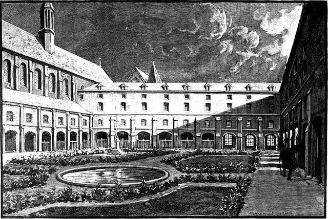 1719 Fondation au grand Couvent des Cordeliers à Paris