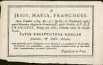 1783 Faire part de décès