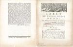 1785 Tiers Ordre Régulière (TOR)