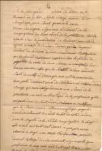 1827 Certificat de profession dans le Tiers-Ordre